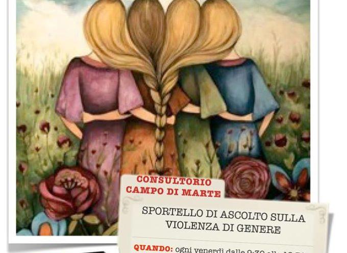 CAMPO DI MARTE – APERTO UNO SPORTELLO DI ASCOLTO PER LE DONNE VITTIME DI VIOLENZA