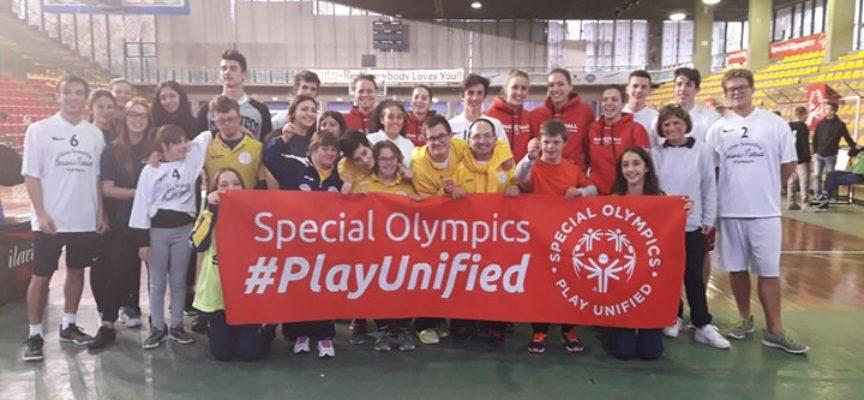 SPORT ed INCLUSIONE successo al palatagliate dell'european basketball week special olympics