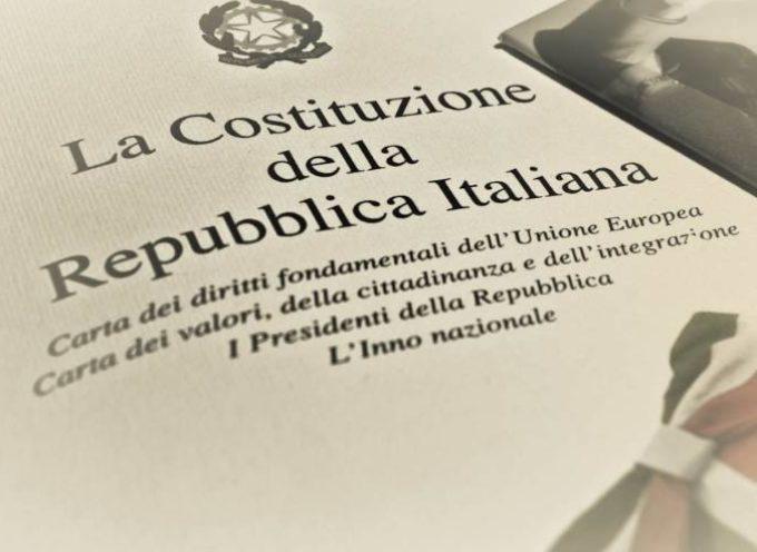 Oggi la Costituzione compie 70 anni !