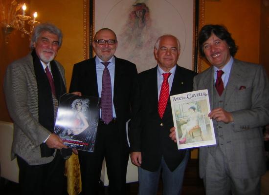 Viareggio Gran Caffè Margherita Mercoledi 20 dicembre Presentazione periodico AMICI DEL CERVELLO NEWS