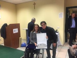 Alfredo Lencioni e Sara Morganti
