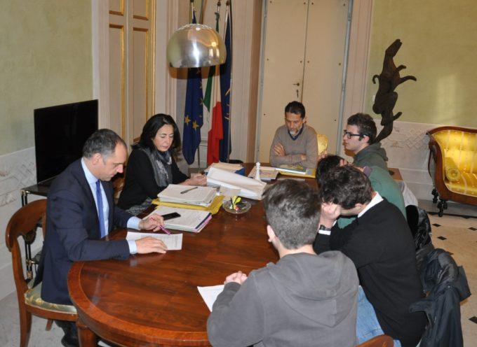 EDILIZIA SCOLASTICA: IL PRESIDENTE MENESINI HA RICEVUTO  UNA DELEGAZIONE DI STUDENTI DELL'ITI FERMI