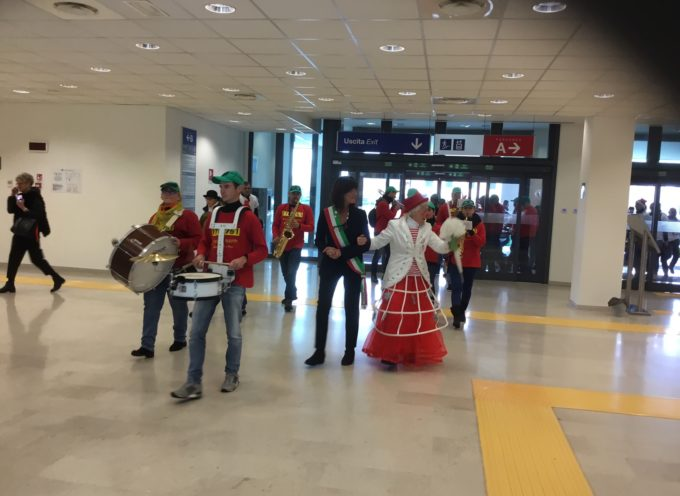 "Tanta allegria all'ospedale ""San Luca"" grazie al Ridolina tour"