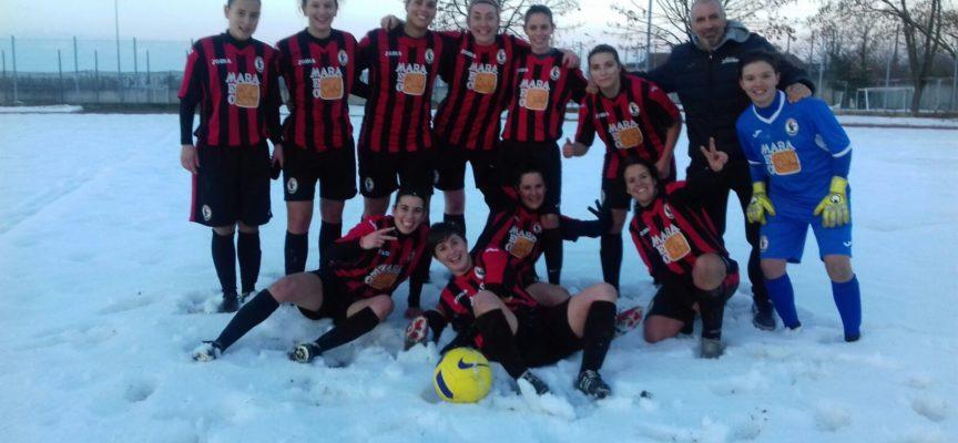 """l'Acf Lucchese """"a valanga"""" nella neve di Saluzzo : 5-1 al Musiello"""