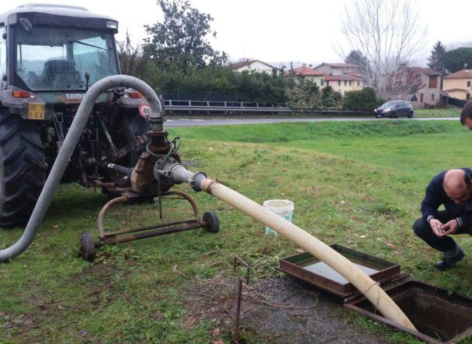 Lucchesia – Al termine dell'emergenza, proseguono i sopralluoghi del Consorzio