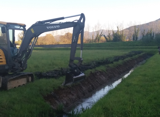 A Santa Maria a Colle, nell'Oltreserchio, sono in fase di completamento i lavori di manutenzione: