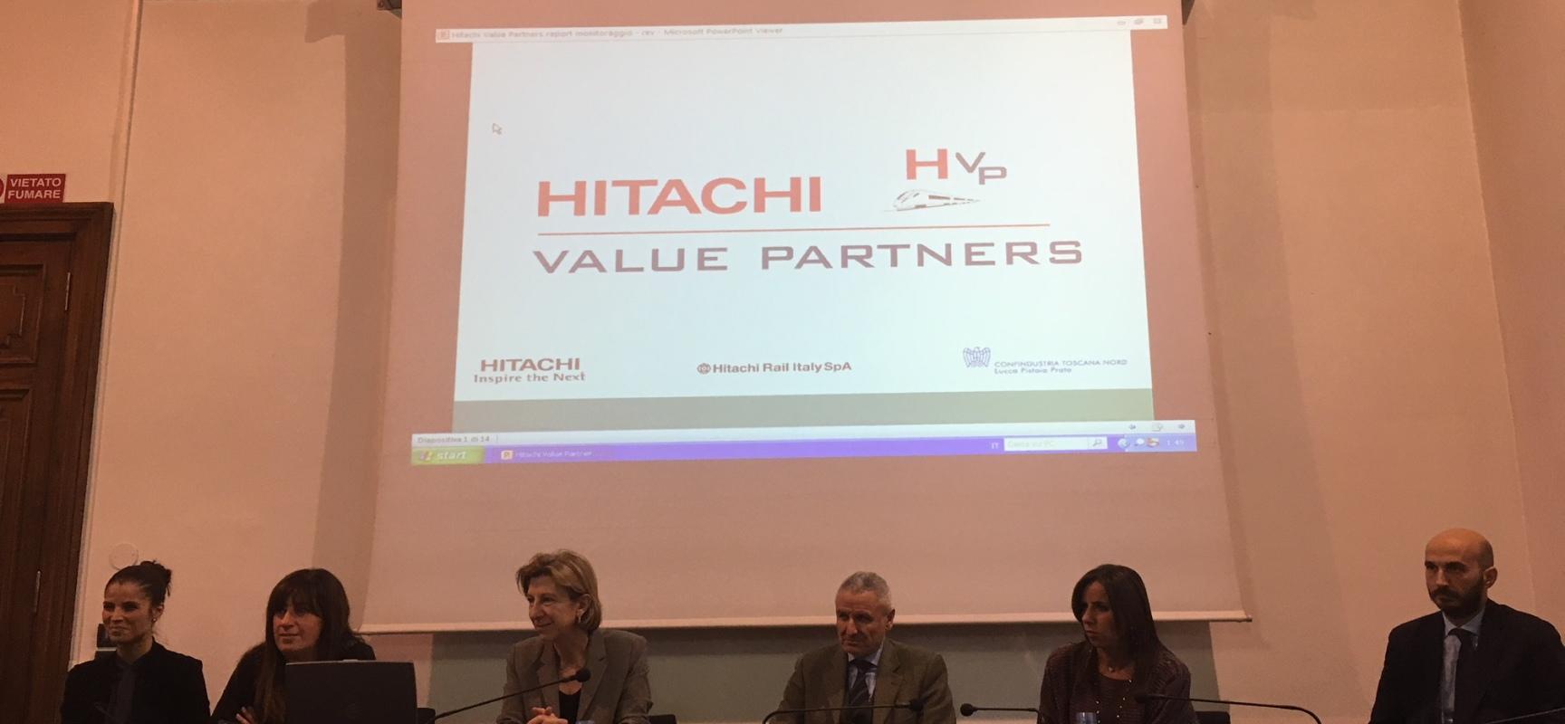 Progetto Hitachi Value Partner – Hitachi Rail Italia forma a Pistoia tredici aziende dell'indotto per farle crescere