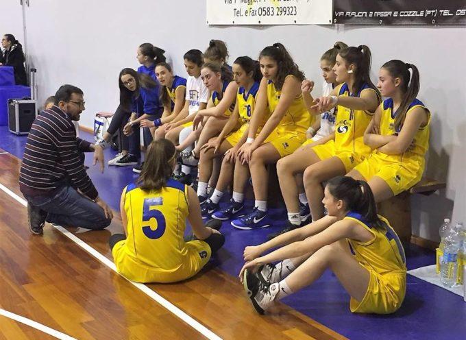 En plein delle squadre del Basket Femminile Porcari che vincono tutte