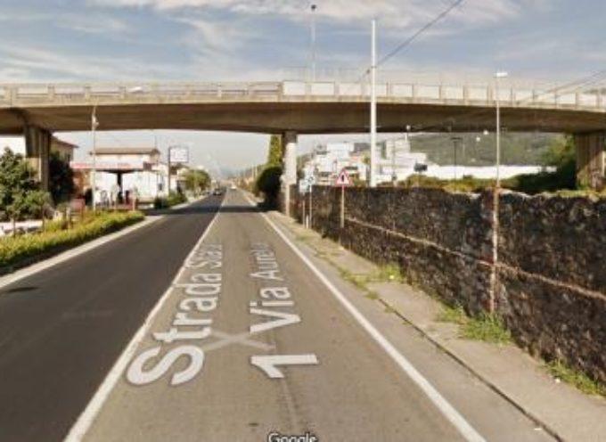 VIABILITA' VERSILIA: LIMITAZIONI SUL CAVALCAVIA DI QUERCETA  PER GLI AUTOCARRI OLTRE LE 50 TONNELLATE