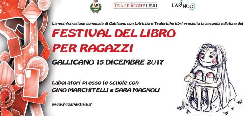 A Gallicano venerdì 15 dicembre la seconda edizione del Festival del libro per ragazzi