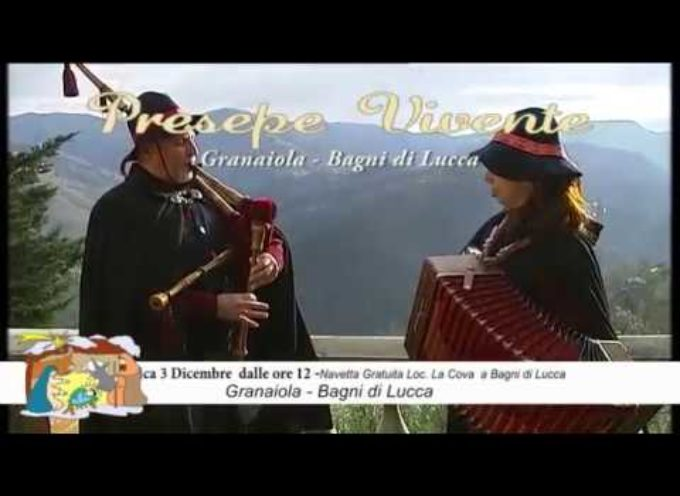 Presepe Vivente a Granaiola di Bagni di Lucca Domenica 3 Dicembre 2017