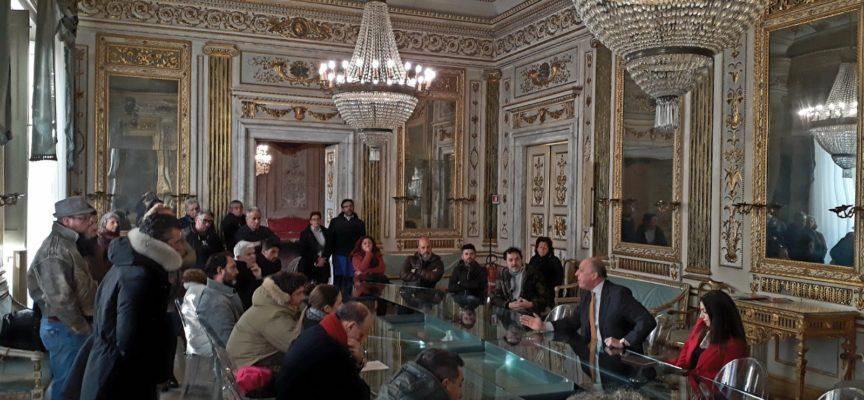 L'amministrazione ha incontrato stamani in Comune una delegazione di baristi e ristoratori