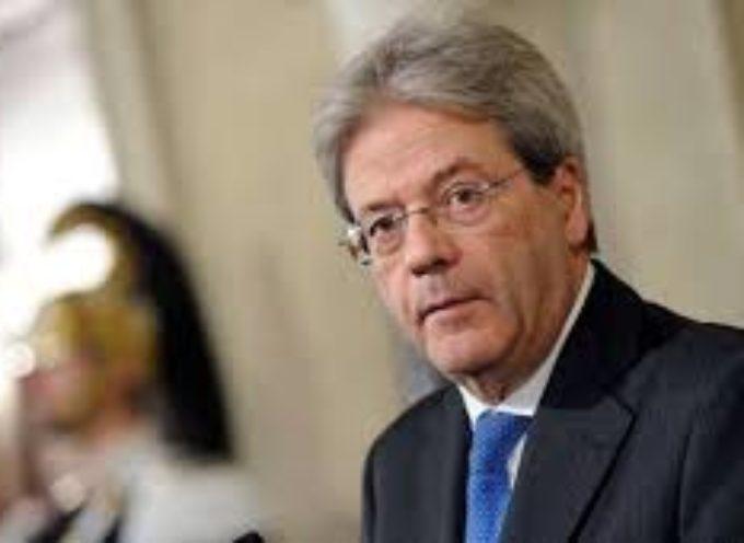 """a Palazzo Chigi il sindaco Tambellini e il presidente del consiglio Gentiloni firmano la convenzione per i """"Quartieri Social"""""""