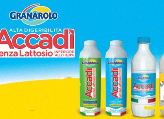 Granarolo richiama latte Accadì: ecco i prodotti ed i lotti