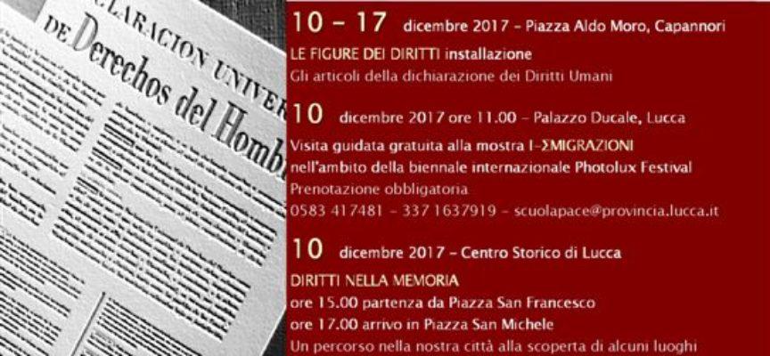"""""""Diritti nella memoria"""", un percorso nel centro storico di Lucca"""