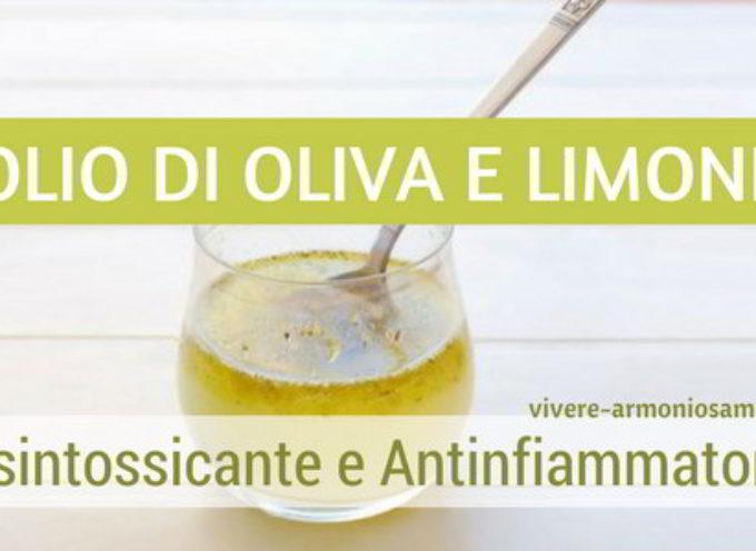 Olio di Oliva e Limone al Mattino