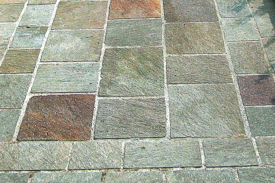 Piastrella da esterno da pavimento in pietra naturale a