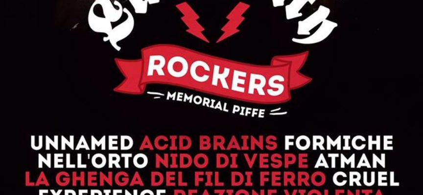 """SABATO AL FORO BOARIO I """"LUCCA CITY ROCKERS"""" RICORDANO """"PIFFE"""" CON UNA 12 ORE DI MUSICA E BENEFICENZA"""