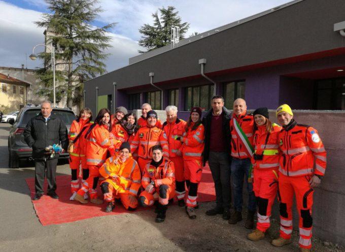 Una delegazione di Porcari a Pieve Torina per donare  i 15 mila euro raccolti alla Cena sotto le Stelle