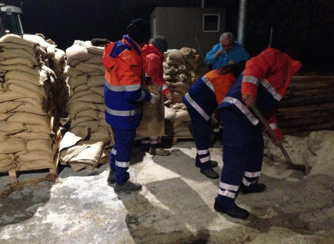 Notte di lavoro per il Consorzio di Bonifica: realizzati interventi a Marlia e nella zona nord del Capannorese