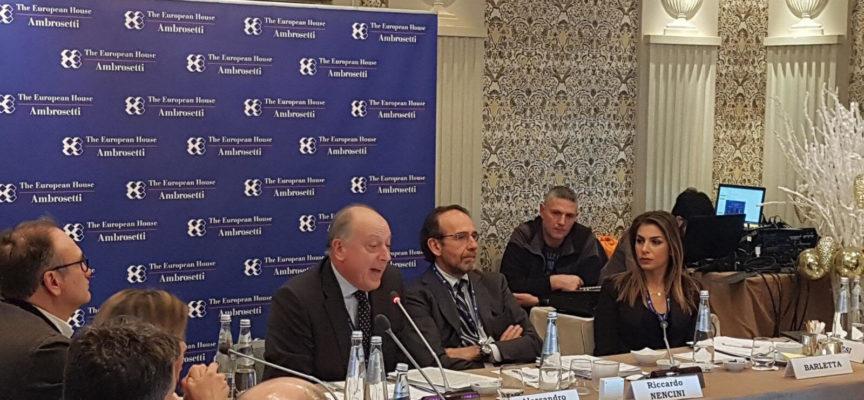 il sindaco Tambellini ha partecipato alla tavola rotonda promossa a Roma dall'Ambrosetti Club