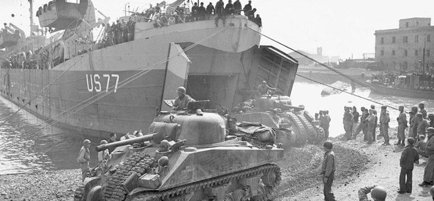 ACCADDE OGGI – 22 gennaio 1944 LO SBARZO DEGLI AMERICANI