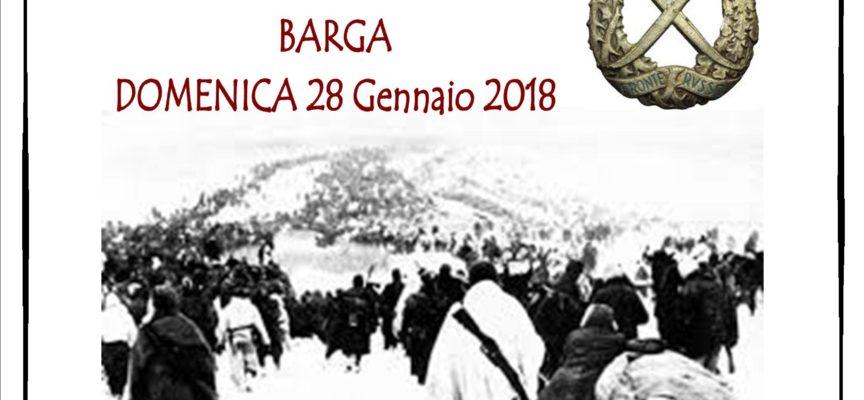 Barga ricorderà i caduti della Battaglia di Nikolajewka,