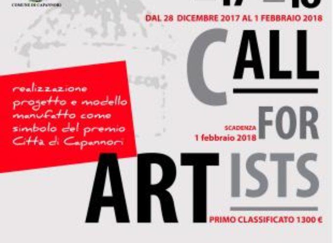 Aperta fino al prossimo 1 febbraio la 'Call for Artists' per la realizzazione del simbolo del 'Premio Città di Capannori'