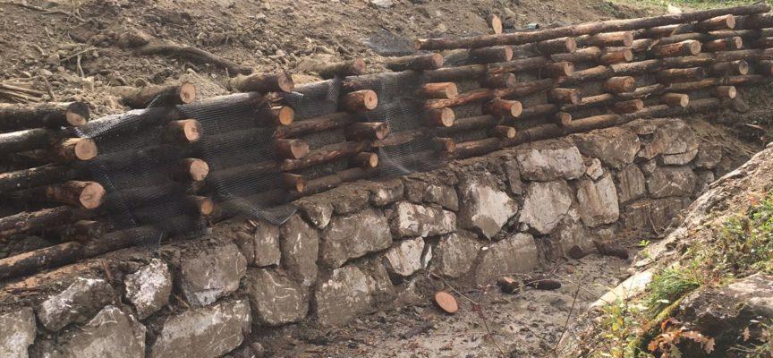 Licciana Nardi, ultimati i lavori che mettono in sicurezza il Canale della Miona