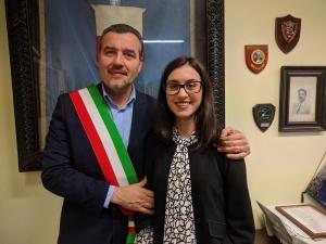 Fornaciari con Caterina Barsotti