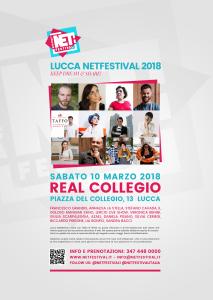 Locandina LNetFestival 2018