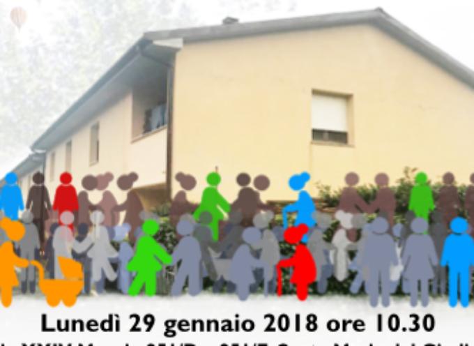 Lunedì 29 l'inaugurazione di due appartamenti destinati alla coabitazione di otto persone sole
