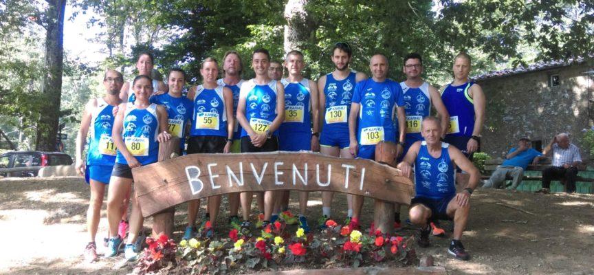 il team marciatori antraccoli entra nella top ten della classifica del Criterium Toscano
