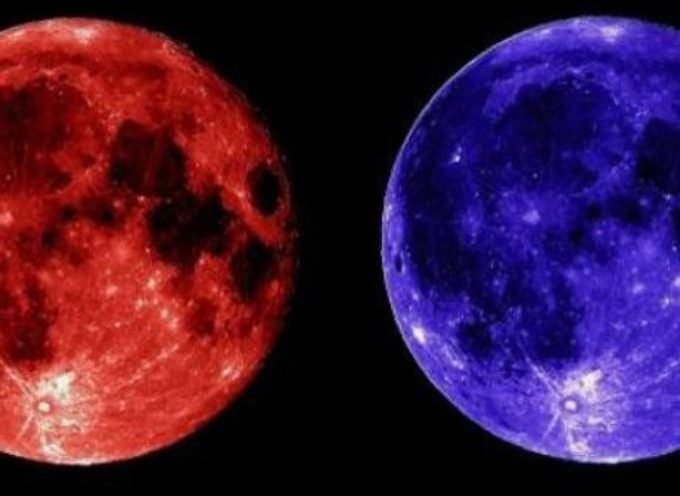 31 gennaio 2018 Eclissi della SuperLuna Blu