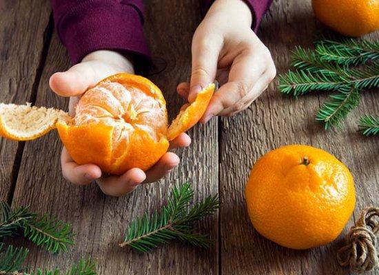 Bucce di mandarino: dalle scorze 10 rimedi per i piccoli problemi di salute