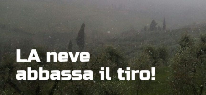 L'AFFLUSSO FREDDO STA ENTRANDO PIU' DECISAMENTE, NEVE FINO IN PIANURA