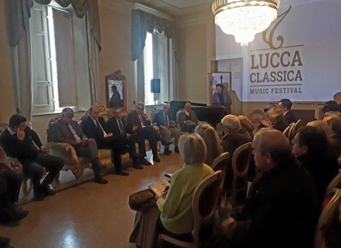 Presentato Al Teatro del Giglio  il festival  di musica lucca classica.