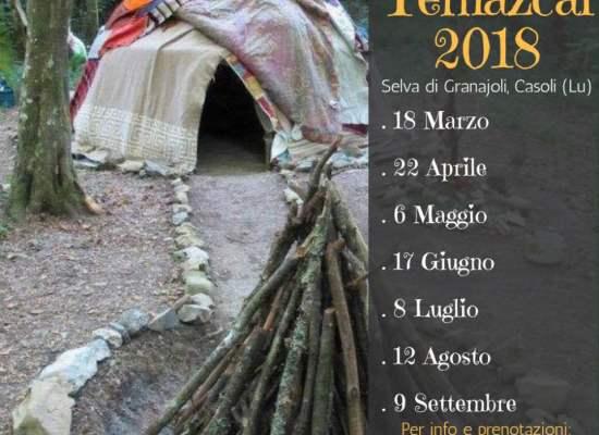 """la """"medicina"""" del Temazcal, un rituale che affonda le sue radici nell'antica cultura azteca."""