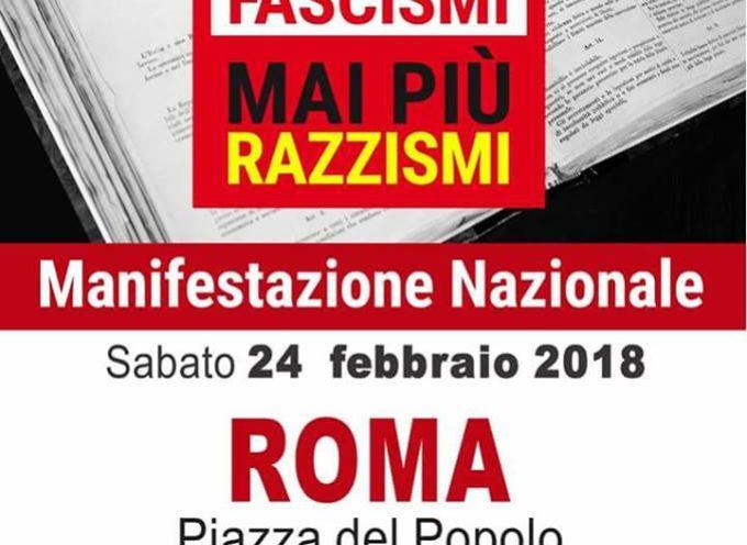 Manifestazione nazionale Mai più fascismi, mai più razzismi