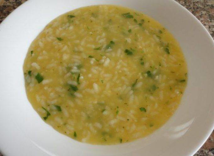 La ricetta di campagna: minestra di riso e uova.