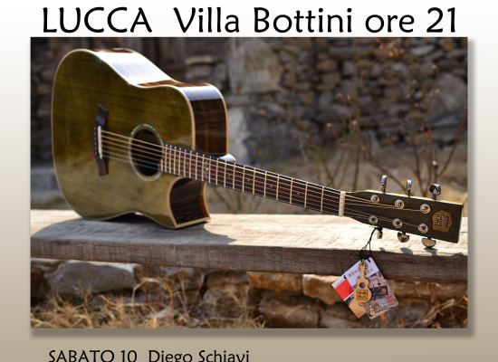 Sabato e Domenica appuntamento con il blues a Villa Bottini