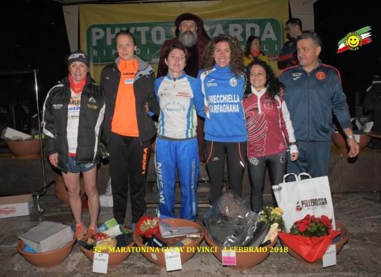 GS Orecchiella con Annalura Mugno vince la maratonina di Vinci Fabrizio Ridolfi 3° sul Monte Penna