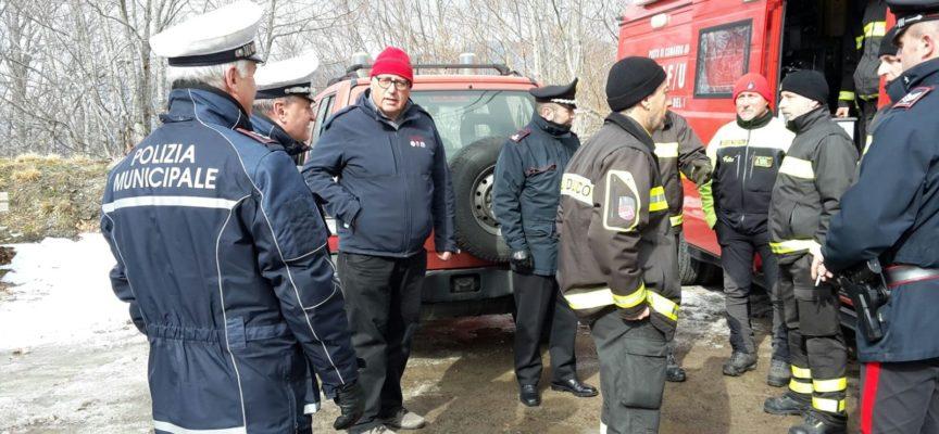 Ritrovato questa mattina illeso l'uomo che si era perso nel canale del Sillico  nel pomeriggio di ieri 19 febbraio, ha passato la notte in un metato forse una capanna