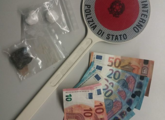 Droga nei boschi di Sant'Alessio: arrestato uno spacciatore