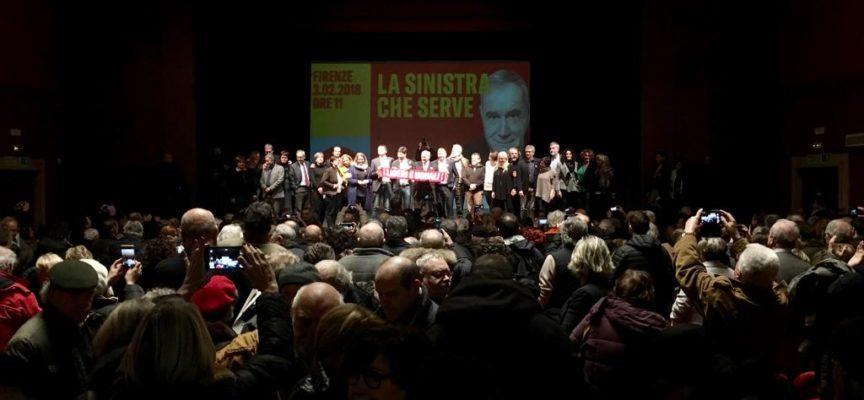 """Liberi e Uguali apre la campagna elettorale in Toscana """"Siamo l'unico voto utile per dare speranza a un'Italia delusa"""""""