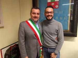 Leonardo Fornaciari e Gabriele Del Carlo