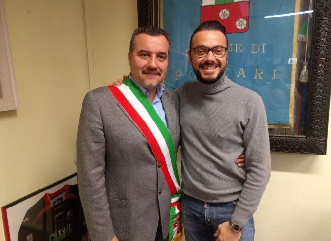 Il Sommelier porcarese Gabriele Del Dotto ricevuto in Comune dal sindaco Fornaciari: