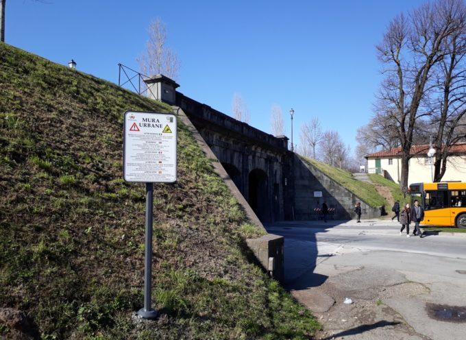 Sicurezza sulle Mura Urbane: 32 nuovi cartelli segnalano i pericoli