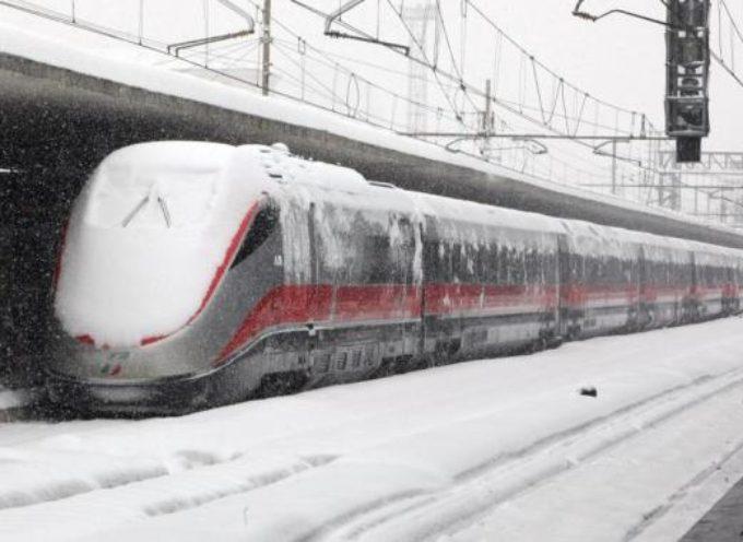 Ferrovie.. Attivati piani neve e gelo per la Valle del Serchio