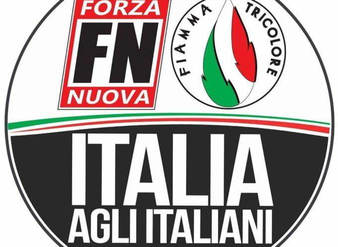 """Presentazione Candidati e Lista """"Italia agli Italiani""""  A LUCCA"""